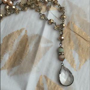 Teardrop Crystal Pendant